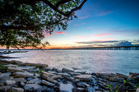 Sunrise over the Ocean Springs Bridge - Reggie Broom